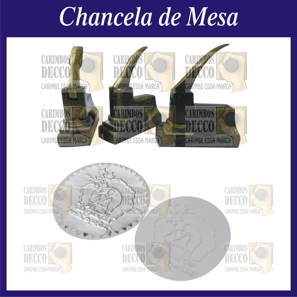 Chancela de Mesa para Autenticar Documentos